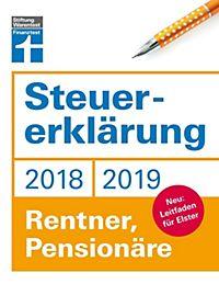 steuererklrung 20182019 rentner pensionre - Steuererklarung Rentner Muster