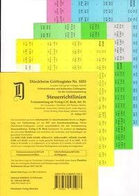 SteuerRichtlinien Griffregister Nr. 1866 (2018), Thorsten Glaubitz, Constantin von Dürckheim