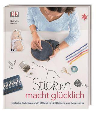 Sticken macht glücklich - Nathalie Mornu |