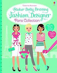 Sticker Dolly Dressing Fashion Designer London Collection