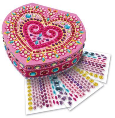 Sticky Mosaics Box Herz, Bastelset
