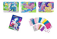 Sticky Mosaics - Mosaik nach Zahlen, Bastelset, 4er Set (Motive: Einhörner) - Produktdetailbild 2