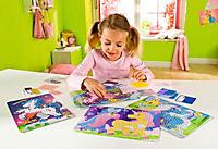 Sticky Mosaics - Mosaik nach Zahlen, Bastelset, 4er Set (Motive: Einhörner) - Produktdetailbild 7
