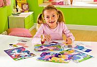 Sticky Mosaics - Mosaik nach Zahlen, Bastelset, 4er Set (Motive: Einhörner) - Produktdetailbild 4