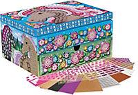 "Sticky Mosaics Schmuckkasten ""Pferde"", Bastelset - Produktdetailbild 4"