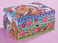 "Sticky Mosaics Schmuckkasten ""Pferde"", Bastelset - Produktdetailbild 1"