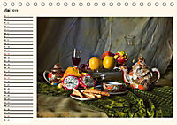 Stillleben - aber mit Stil (Tischkalender 2019 DIN A5 quer) - Produktdetailbild 5