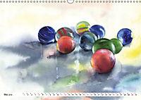 Stillleben Aquarelle (Wandkalender 2019 DIN A3 quer) - Produktdetailbild 5