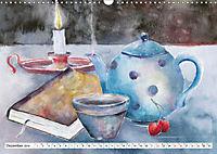 Stillleben Aquarelle (Wandkalender 2019 DIN A3 quer) - Produktdetailbild 12
