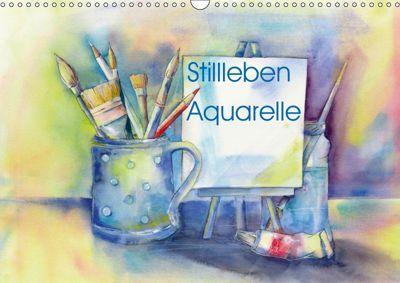 Stillleben Aquarelle (Wandkalender 2019 DIN A3 quer), Jitka Krause