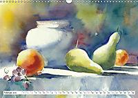 Stillleben Aquarelle (Wandkalender 2019 DIN A3 quer) - Produktdetailbild 2