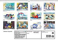 Stillleben Aquarelle (Wandkalender 2019 DIN A3 quer) - Produktdetailbild 13