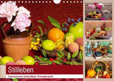 Stillleben. Impressionen besonderer Arrangements (Wandkalender 2019 DIN A4 quer), Steffani Lehmann