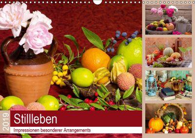 Stillleben. Impressionen besonderer Arrangements (Wandkalender 2019 DIN A3 quer), Steffani Lehmann