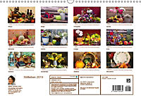 Stillleben. Impressionen besonderer Arrangements (Wandkalender 2019 DIN A3 quer) - Produktdetailbild 13