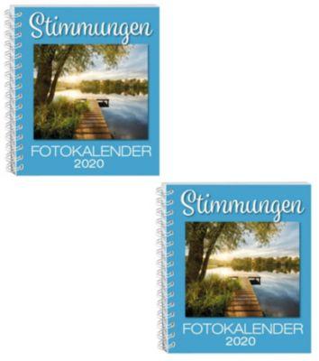 Stimmungen Fotokalender 2020, 2er