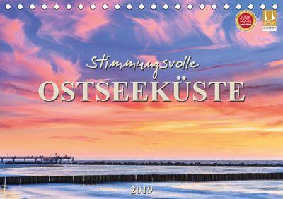 Stimmungsvolle Ostseeküste 2019 (Tischkalender 2019 DIN A5 quer), Daniela Beyer (Moqui)