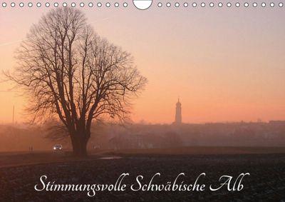Stimmungsvolle Schwäbische Alb (Wandkalender 2019 DIN A4 quer), Klaus-Peter Huschka