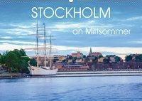Stockholm an Mittsommer (Wandkalender 2019 DIN A2 quer), Dennis Gelner