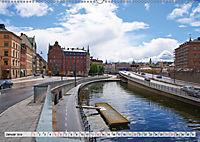 Stockholm an Mittsommer (Wandkalender 2019 DIN A2 quer) - Produktdetailbild 1