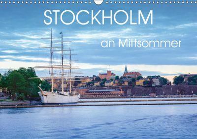 Stockholm an Mittsommer (Wandkalender 2019 DIN A3 quer), Dennis Gelner