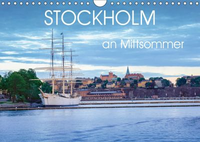 Stockholm an Mittsommer (Wandkalender 2019 DIN A4 quer), Dennis Gelner