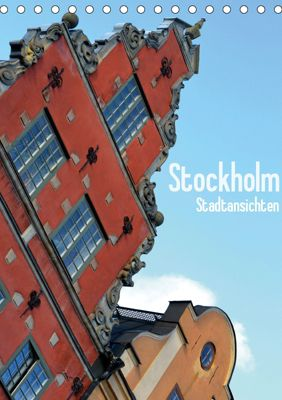 Stockholm - Stadtansichten (Tischkalender 2019 DIN A5 hoch), Stefanie Küppers