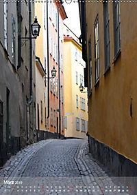 Stockholm - Stadtansichten (Wandkalender 2019 DIN A2 hoch) - Produktdetailbild 3
