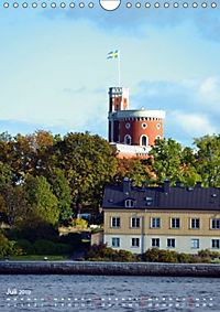 Stockholm - Stadtansichten (Wandkalender 2019 DIN A4 hoch) - Produktdetailbild 7