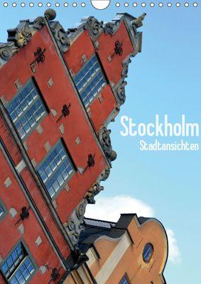 Stockholm - Stadtansichten (Wandkalender 2019 DIN A4 hoch), Stefanie Küppers