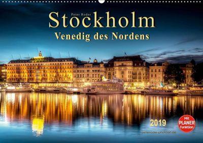 Stockholm - Venedig des Nordens (Wandkalender 2019 DIN A2 quer), Peter Roder