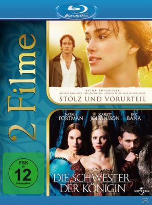 Stolz und Vorurteil, Die Schwester der Königin - 2 Disc Bluray, Matthew MacFadyen,Brenda Blethyn Keira Knightley