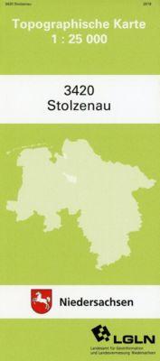 Stolzenau 1 : 25 000. (TK 3420/N)
