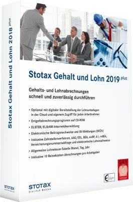 Stotax Gehalt und Lohn Plus 2019, 1 CD-ROM -  pdf epub