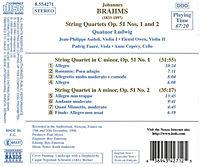 Str. Quart. Op. 51 1 & 2*Quatu - Produktdetailbild 1