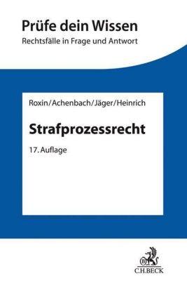 Strafprozessrecht -  pdf epub