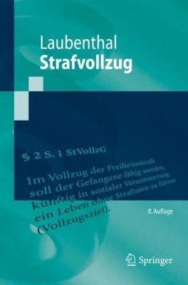 Strafvollzug - Klaus Laubenthal |