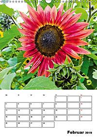 Strahlende Sonnenblumen (Wandkalender 2019 DIN A3 hoch) - Produktdetailbild 2