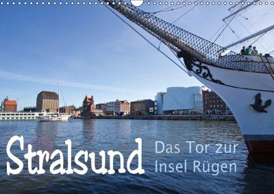 Stralsund. Das Tor zur Insel Rügen (Wandkalender 2019 DIN A3 quer), Paul Michalzik