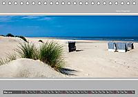 Strandblicke Borkum und Norderney (Tischkalender 2019 DIN A5 quer) - Produktdetailbild 5