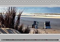 Strandblicke Borkum und Norderney (Tischkalender 2019 DIN A5 quer) - Produktdetailbild 3