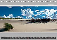 Strandblicke Borkum und Norderney (Tischkalender 2019 DIN A5 quer) - Produktdetailbild 1