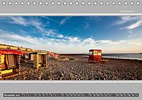 Strandblicke Borkum und Norderney (Tischkalender 2019 DIN A5 quer) - Produktdetailbild 11