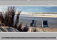 Strandblicke Borkum und Norderney (Wandkalender 2019 DIN A2 quer) - Produktdetailbild 3