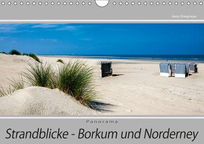 Strandblicke Borkum und Norderney (Wandkalender 2019 DIN A4 quer), Hardy Dreegmeyer