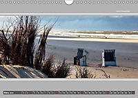 Strandblicke Borkum und Norderney (Wandkalender 2019 DIN A4 quer) - Produktdetailbild 3