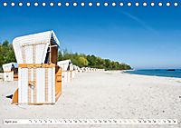 Strandkörbe 2019 (Tischkalender 2019 DIN A5 quer) - Produktdetailbild 4