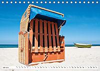Strandkörbe 2019 (Tischkalender 2019 DIN A5 quer) - Produktdetailbild 7
