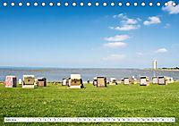 Strandkörbe 2019 (Tischkalender 2019 DIN A5 quer) - Produktdetailbild 6