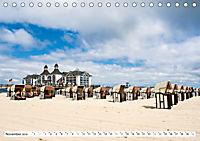 Strandkörbe 2019 (Tischkalender 2019 DIN A5 quer) - Produktdetailbild 11
